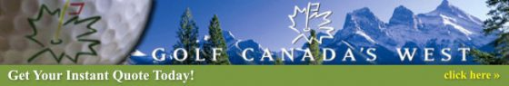 Golf Canada's West - Golf Vacations