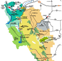 Canmore Canada Map Kananaskis Maps, Canmore, Alberta and Area Maps to download.