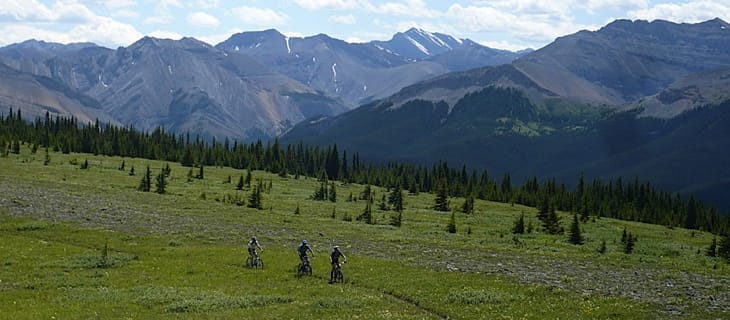Mountain Biking in Kananaskis Country