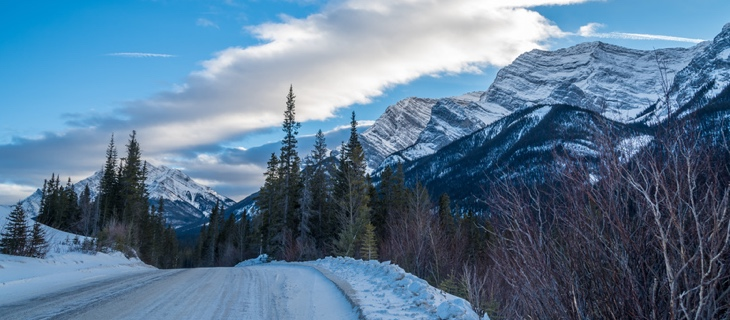 Kananaskis Country in winter